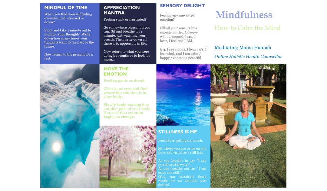 Mindfulness How to Calm the Mind